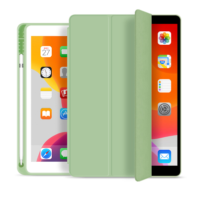 Estuche para lápices ultradelgado de cuero PU para Apple iPad / Air 3 10.5