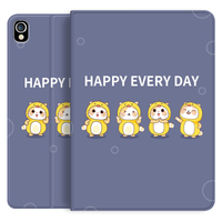 Slim Stand Tablet Silicone Kids Cute Cover para iPad Air 4 10.9 Funda de cuero para tableta