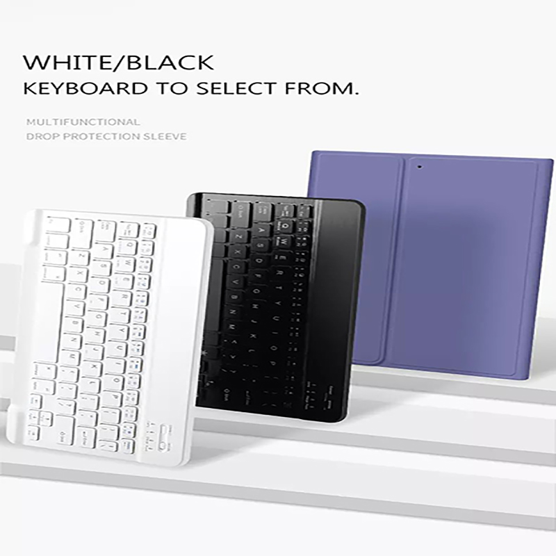 Teclado Bluetooth con portalápices Funda para tableta Funda para iPad 10.2 2019